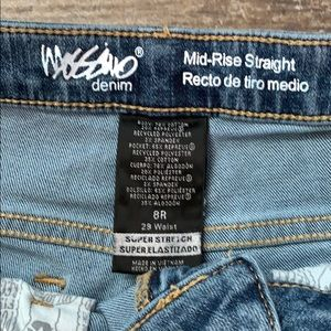 Mossimo Supply Co. Jeans - Mossimo cut hem jeans